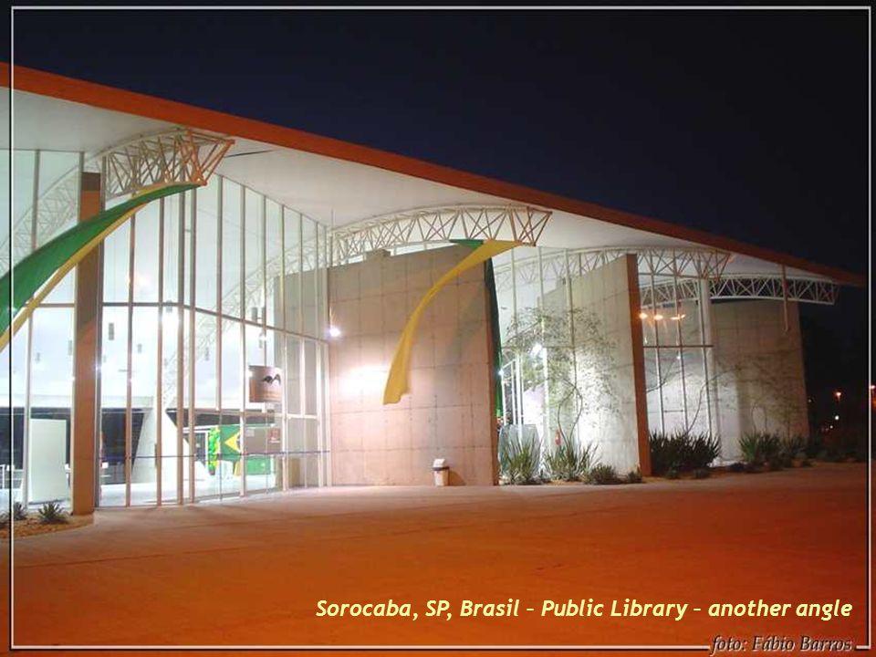 Sorocaba, SP, Brasil - Public Library