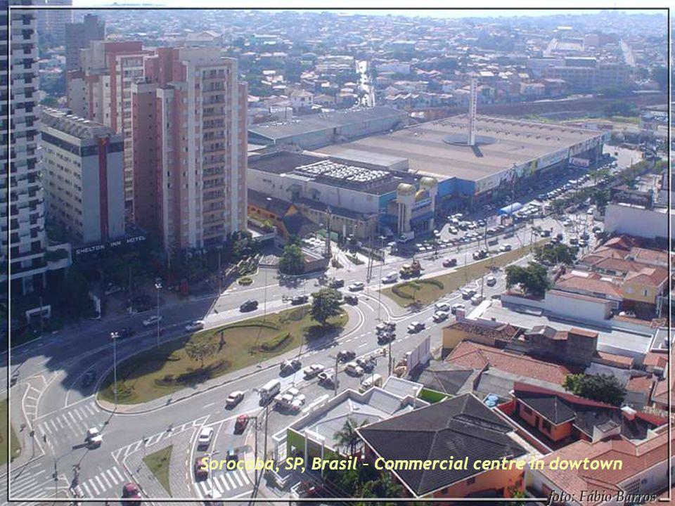 Sorocaba, SP, Brasil - Access highways