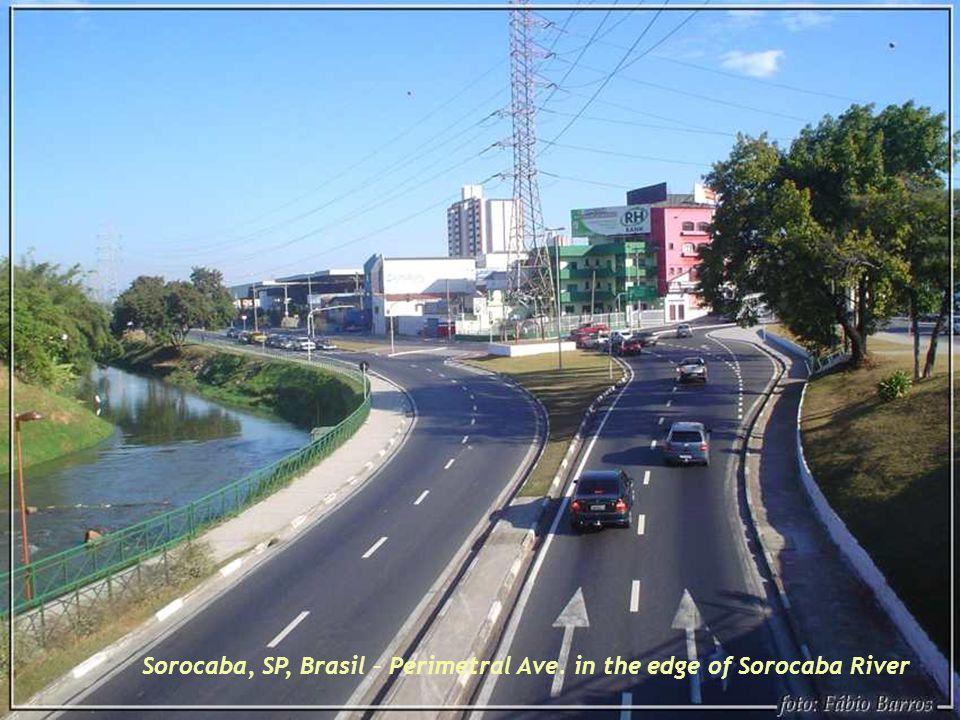 Sorocaba, SP, Brasil – Antique Tramway station