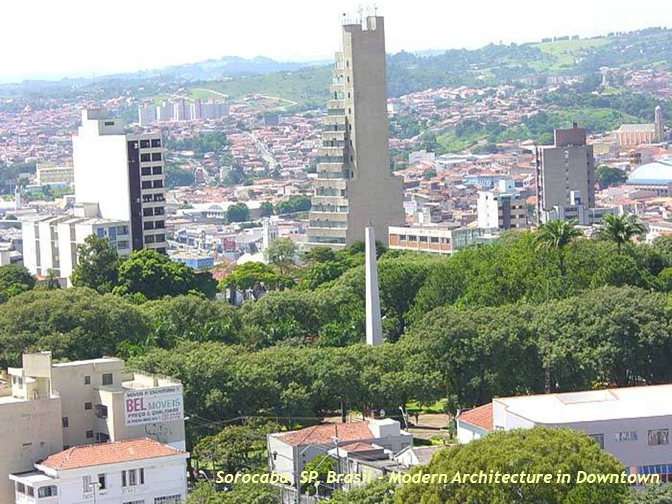 Sorocaba, SP, Brasil – Commercial centre in dowtown