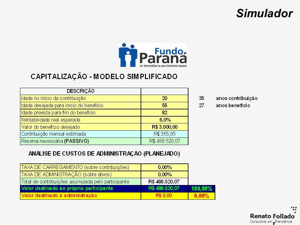 ...... RenatoFollado r Consultoria emPrevidência Simulador