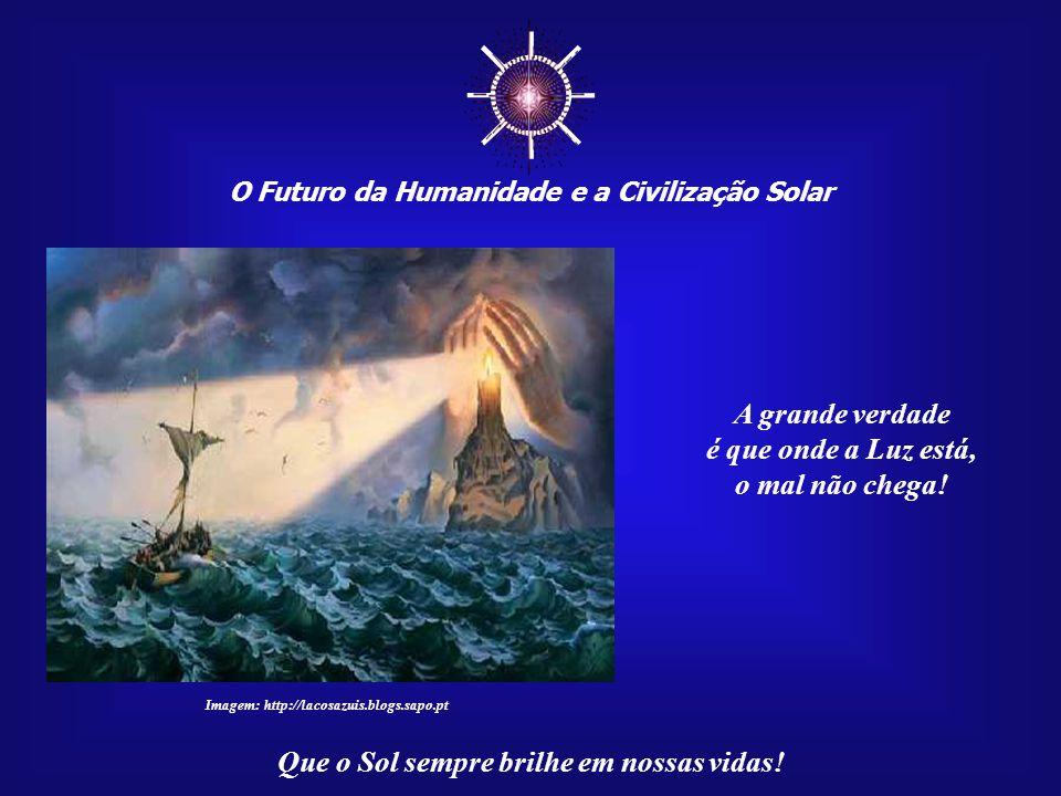 ☼ O Futuro da Humanidade e a Civilização Solar Que o Sol sempre brilhe em nossas vidas! Imagem: http://blog.xisclub.com.br Até onde poderíamos chegar