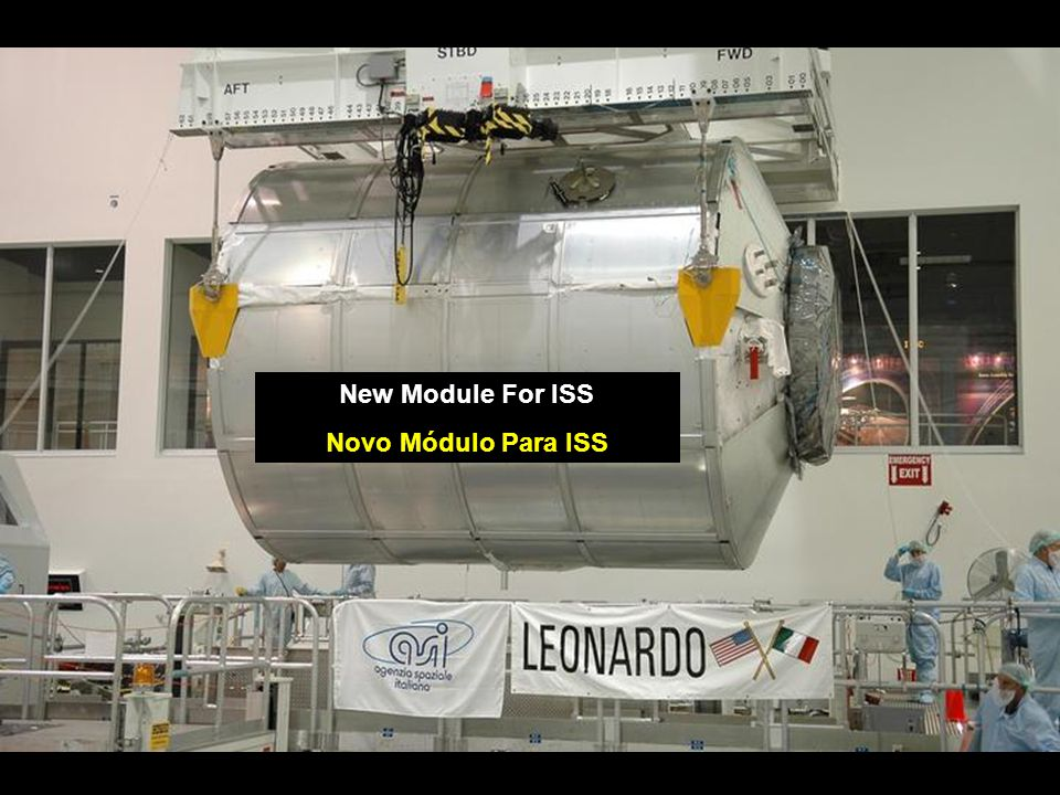 New Module For ISS Novo Módulo Para ISS