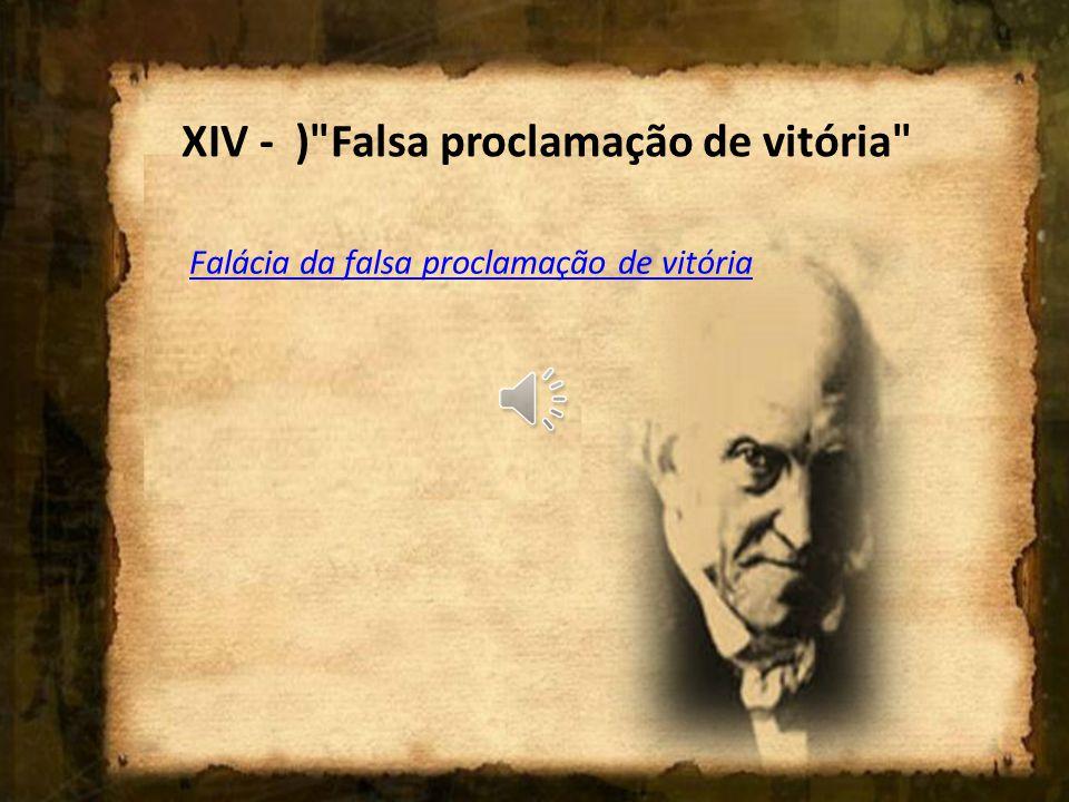 XIII - )
