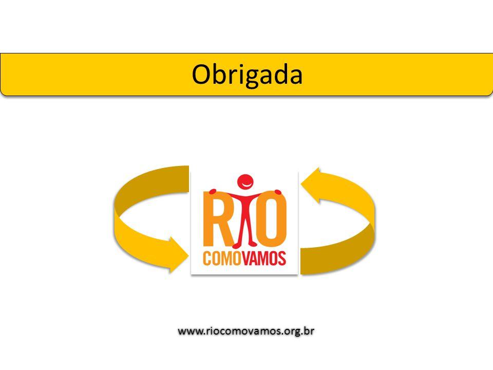 Obrigada www.riocomovamos.org.br