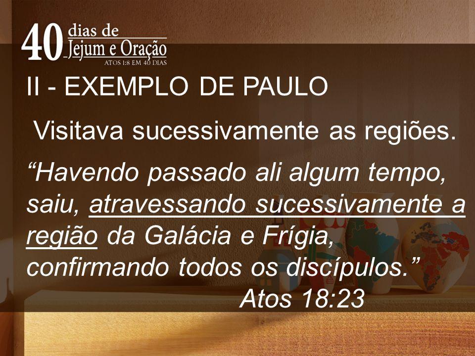 III - ESTRATEGIAS PARA HOJE.1. Plantar igrejas nas cidades sem o evangelho.