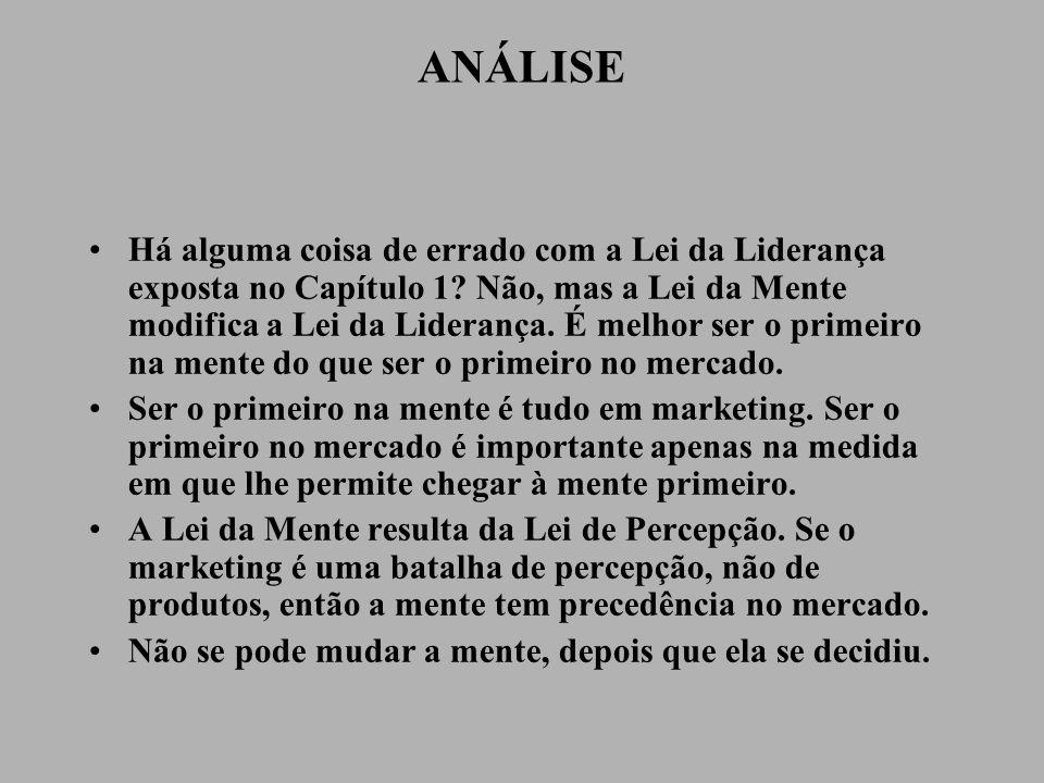 A LEI DA EXTENSÃO DE LINHA HÁ UMA PRESSÃO IRRESISTÍVEL PARA ESTENDER O PATRIMÔNIO LÍQUIDO DA MARCA.