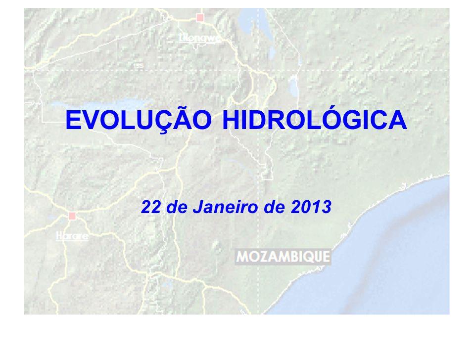 10 EVOLUÇÃO HIDROLÓGICA 22 de Janeiro de 2013