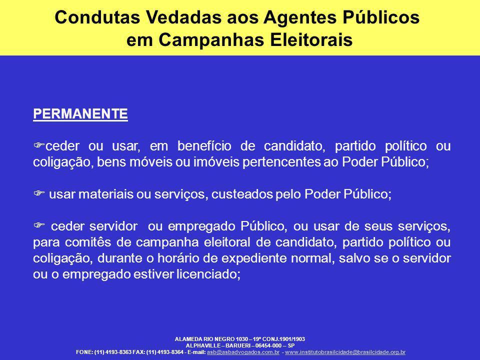 RESUMO DE INELEGIBILIDADES - CF/88, ART.14, Parágrafos 5, 6 e 7 - Lei Complementar n.