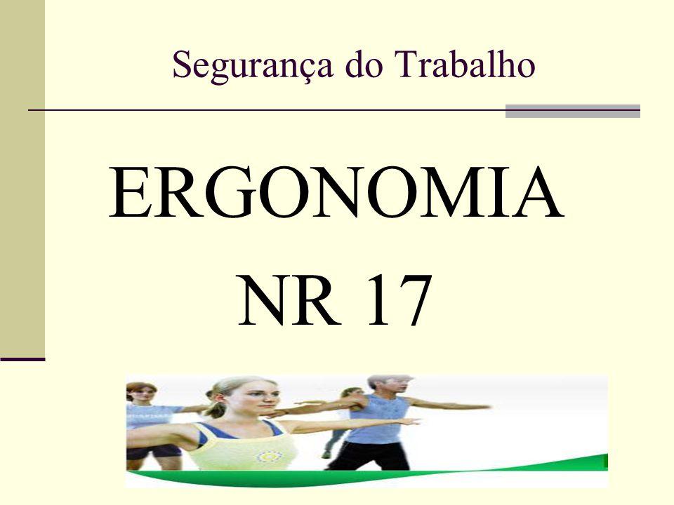 Para entender o que é ergonomia: A definição oficial de Ergonomia é a seguinte: A ergonomia é o estudo científico da relação entre o homem e seus meios, métodos e espaço de trabalho.