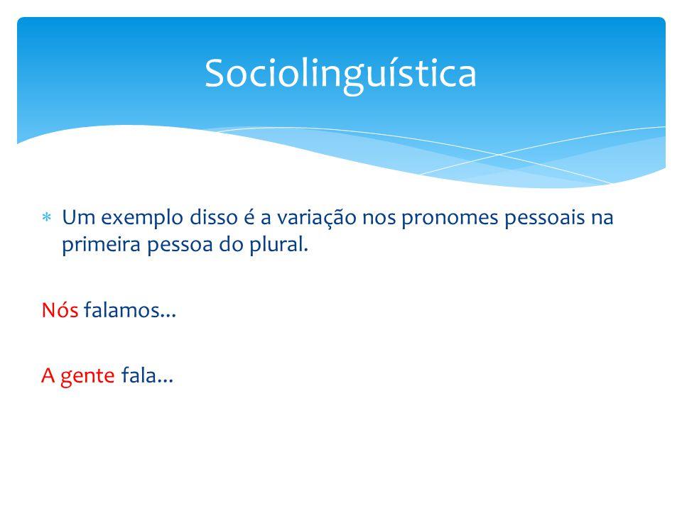  Partindo disso, investigar-se-á:  Em que contexto social um mesmo falante se utiliza de cada uma das duas variantes.