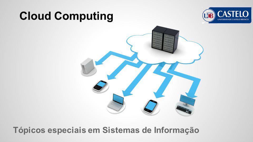 Cloud Computing Tópicos especiais em Sistemas de Informação