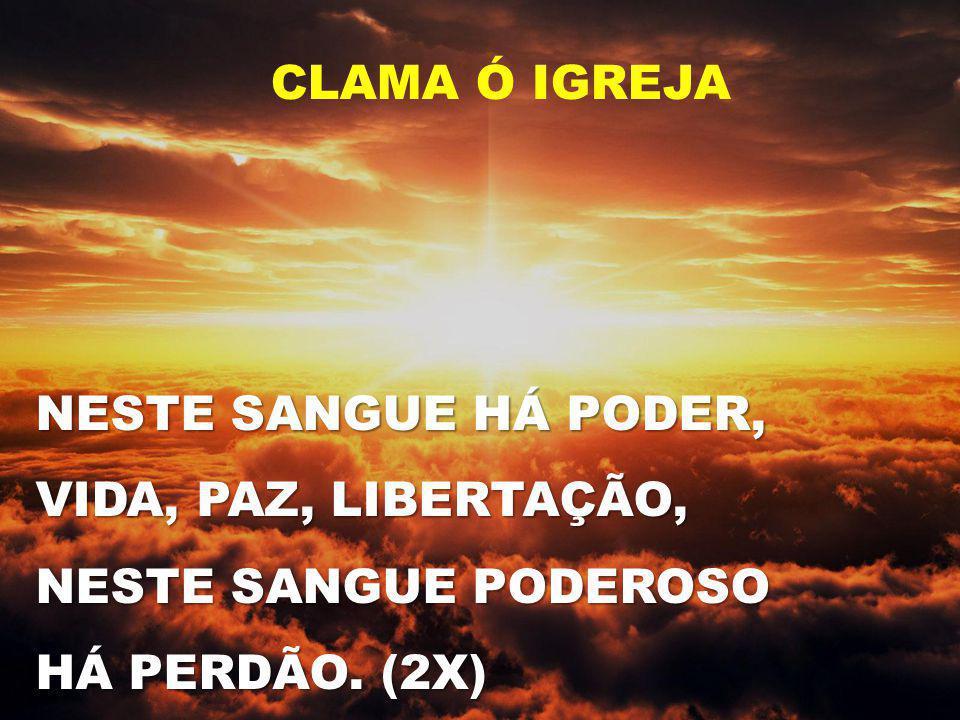 QUE ALEGRIA PODER SERVIR A JESUS, NOSSO SALVADOR.