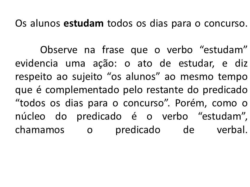 PREDICADO NOMINAL É formado por um verbo de ligação e um predicativo do sujeito.