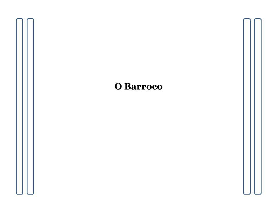 O Barroco procura solucionar os dilemas de um homem que perdeu sua confiança ilimitada na razão e na harmonia, através da volta a uma intensa religiosidade medieval e da eliminação dos conceitos renascentistas de vida e arte.