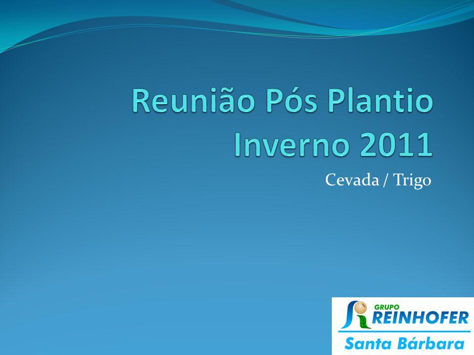 Cevada e Trigo Fazenda Campo Bonito – Turma FCB Fazenda Santa Bárbara – Turma FSB Reserva – Turma Reserva Cupim – Turma Cupim