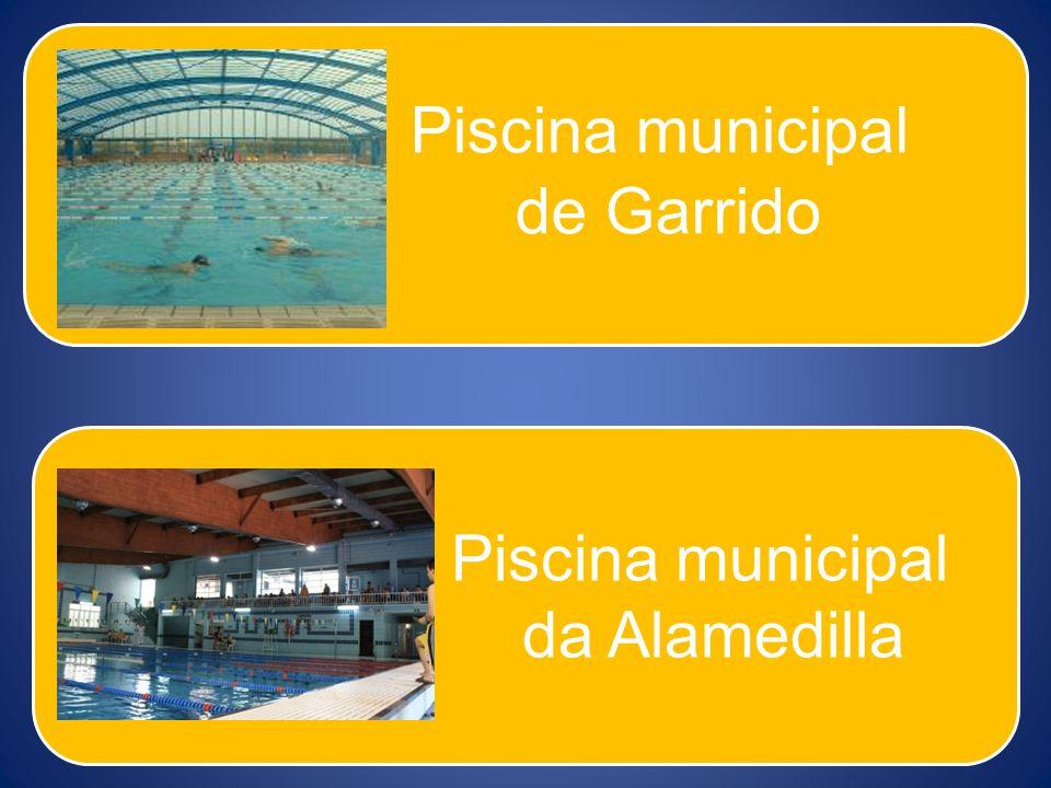 Piscina municipal de Garrido Piscina municipal da Alamedilla