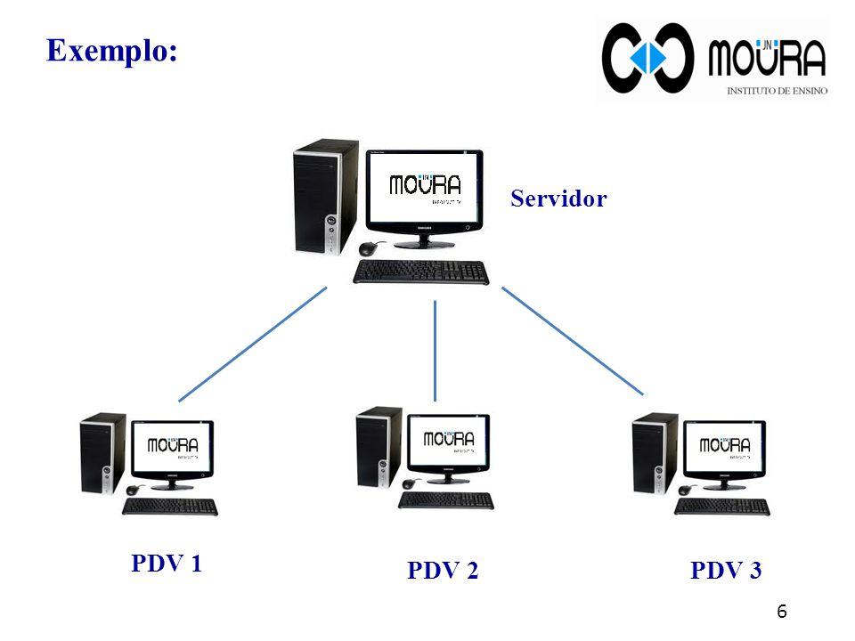 7 Para atualizar os dados no banco de dados (preços, clientes, novos cadastros de produtos) é preciso alterar os dados no servidor e dar carga nos pdvs .