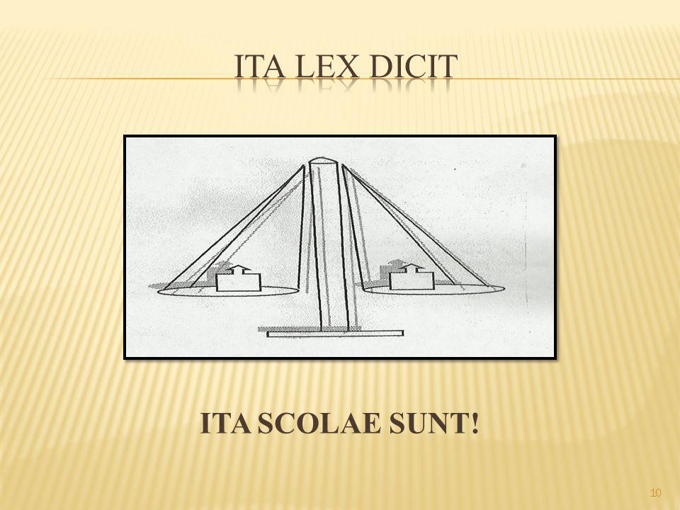 ITA SCOLAE SUNT! 10