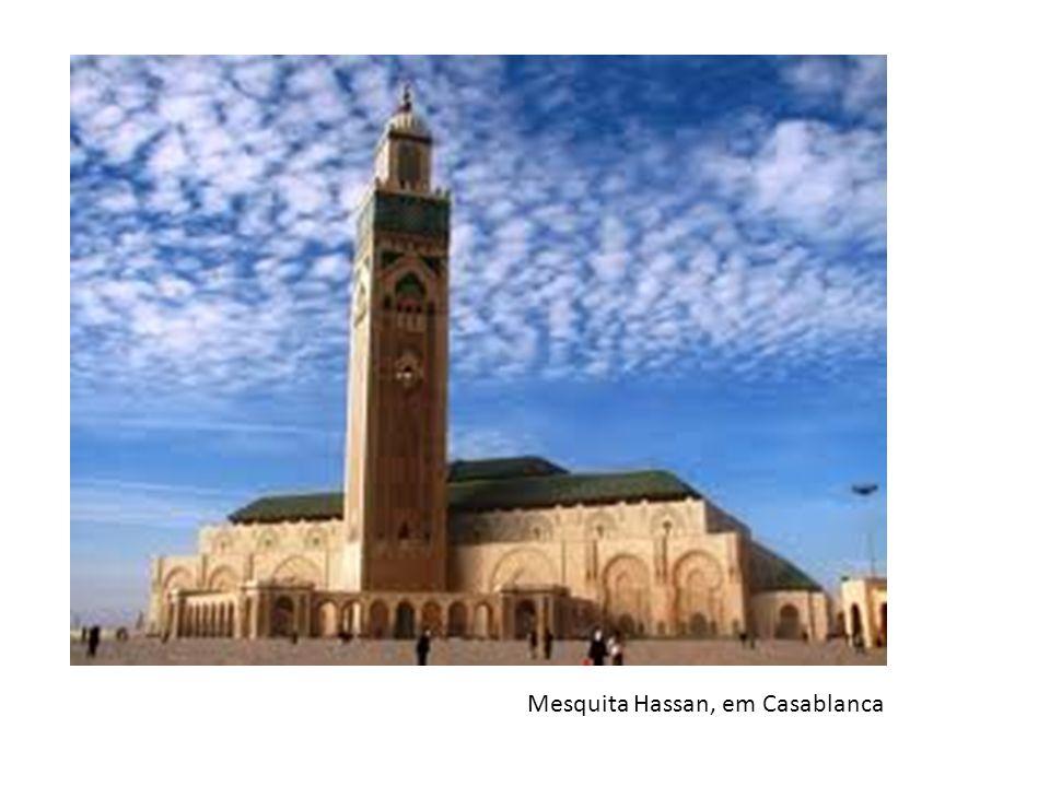 Mesquita Hassan, em Casablanca