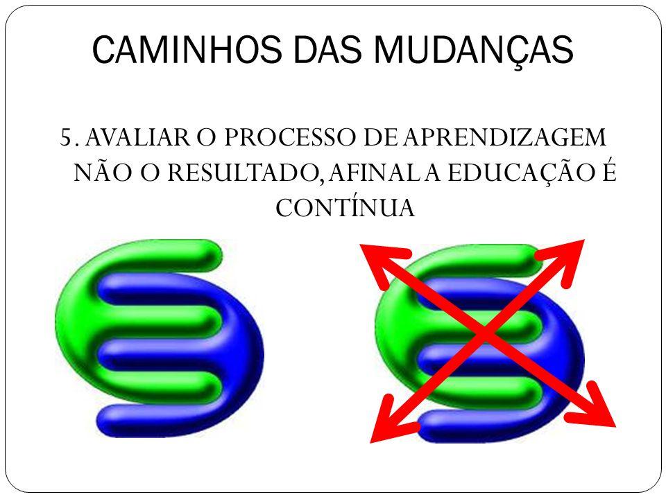 CAMINHOS DAS MUDANÇAS 5.