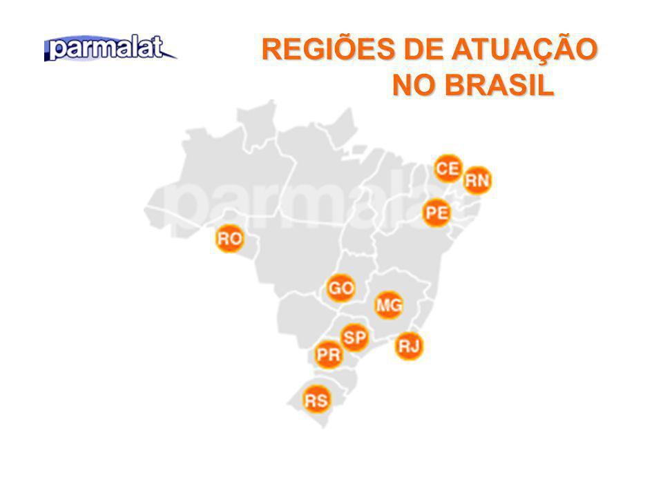 REGIÕES DE ATUAÇÃO NO BRASIL NO BRASIL