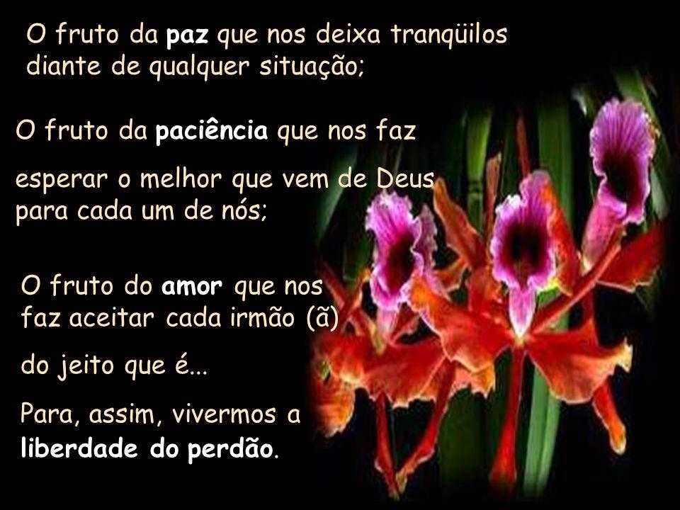 Esperando no tempo de Deus, podemos ver nossa vida florescer e produzir maravilhosos frutos......sabemos ESPERAR...