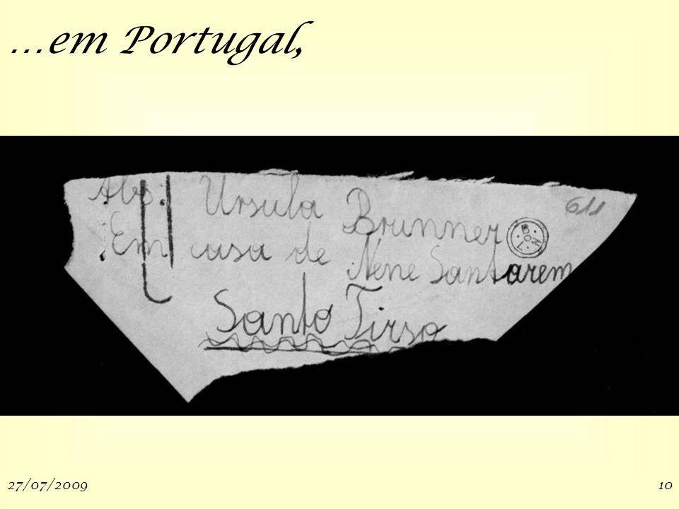 27/07/200910 …em Portugal,