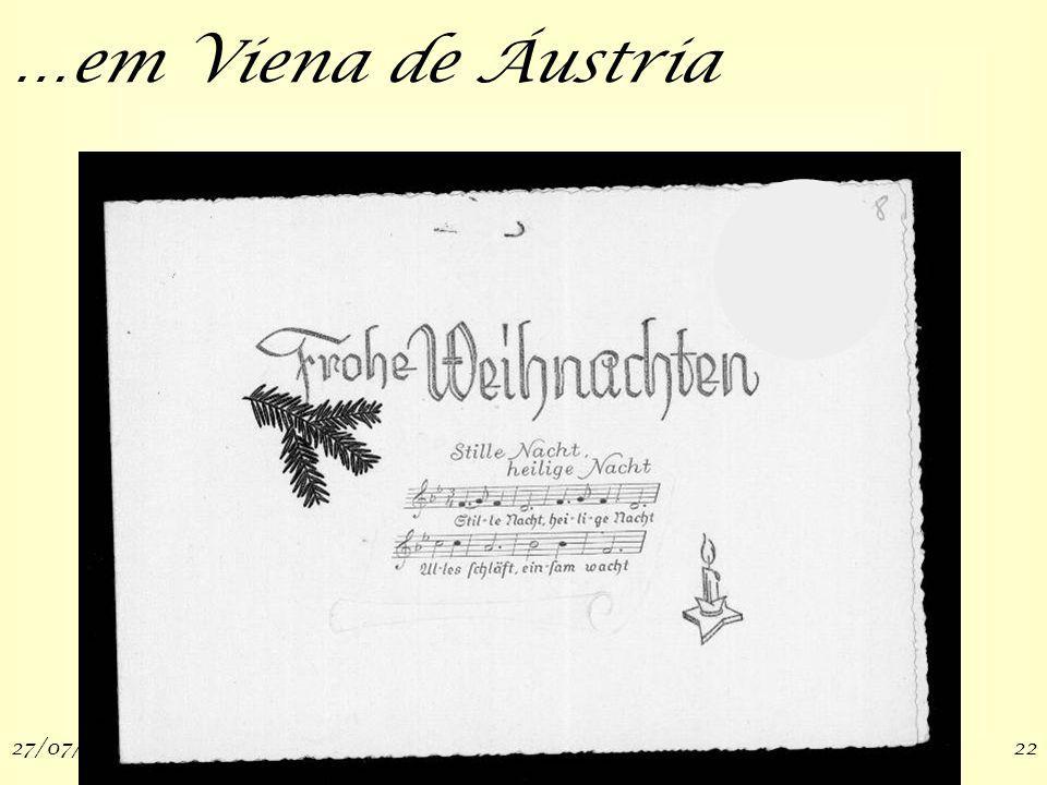 27/07/200922 …em Viena de Áustria