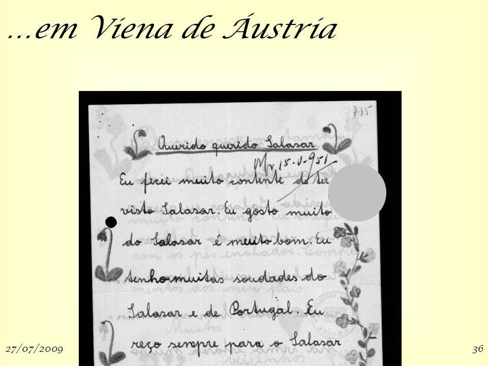 27/07/200936 …em Viena de Áustria