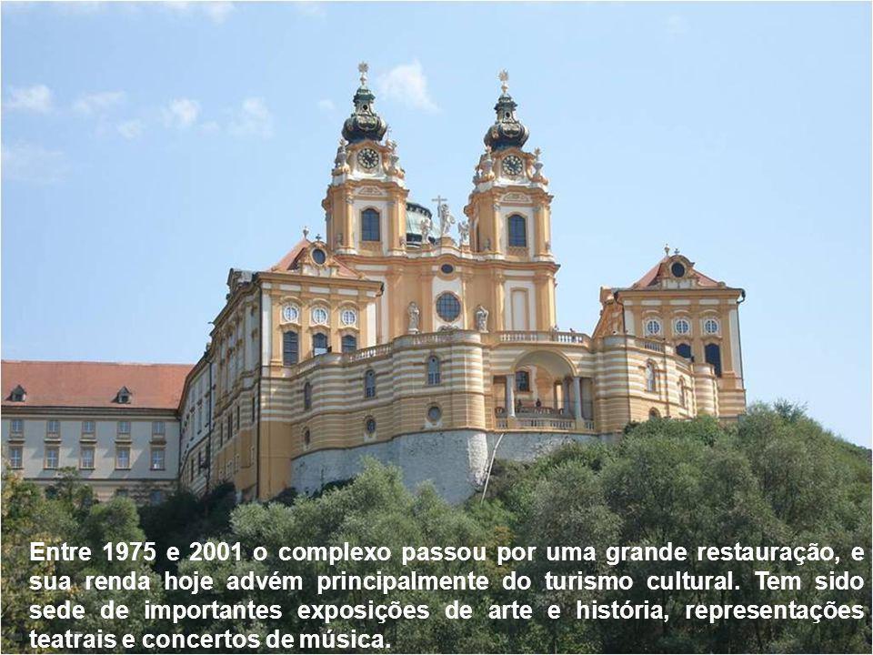 Entre 1975 e 2001 o complexo passou por uma grande restauração, e sua renda hoje advém principalmente do turismo cultural.