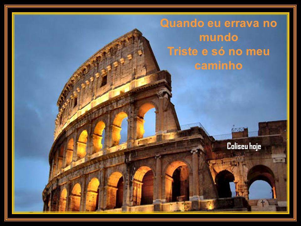 Sublime estrela caída Das belezas da amplidão Anfiteatro Flavio