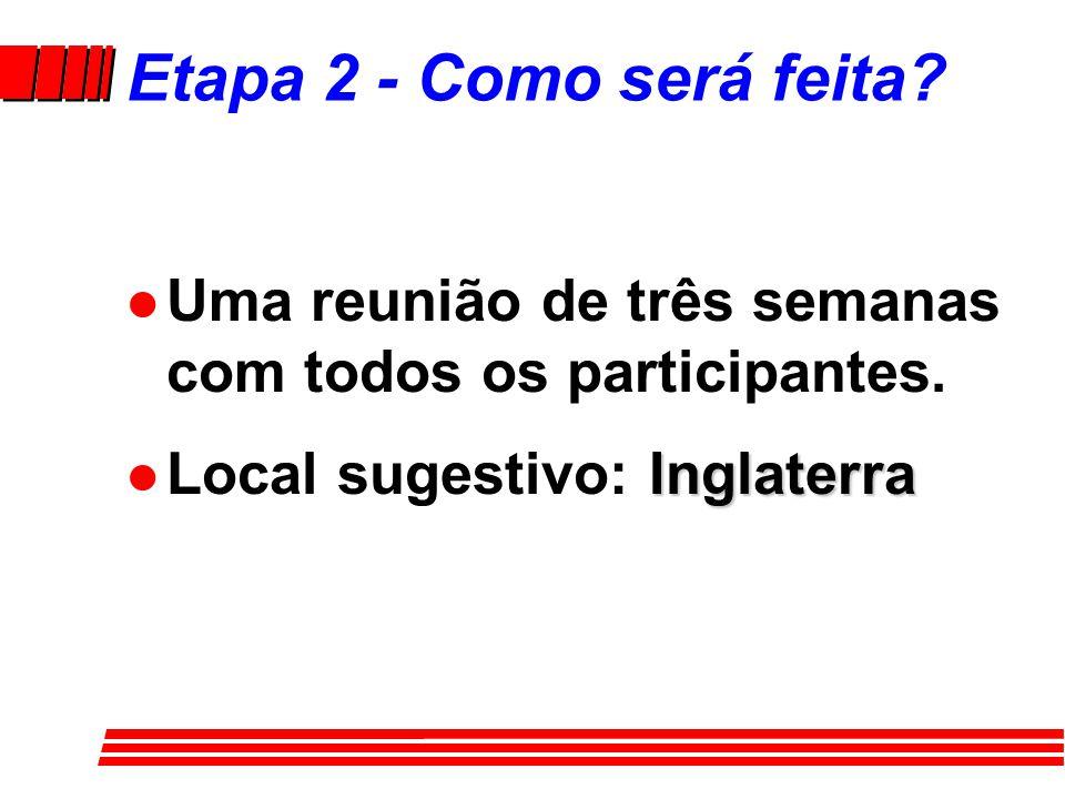 Etapa 2 - Objetivos e esboços das histórias/estudos l 1º Semestre 1997 - trabalho de uma comissão para desenvolver o desenho, formato, objetivos e esboços das histórias/estudos para as 624 lições.