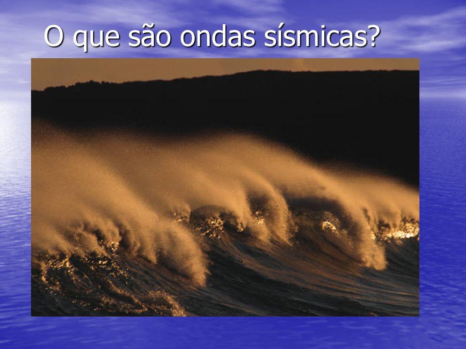 O que são ondas sísmicas?