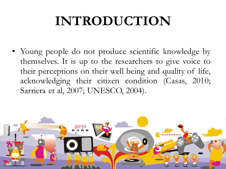 Young people do not produce scientific knowledge by themselves.