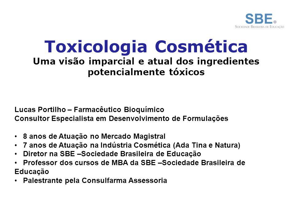 Mercado Cosmético Brasileiro Indústria Brasileira de Higiene Pessoal, Perfumaria e Cosméticos: Crescimento médio (ao ano) de 10,9% nos últimos 12 anos Tendo passado de um faturamento líquido de R$ 4,9 bilhões em 1996 para R$ 19,6 bilhões em 2007 ABIHPEC – Associação Brasileira da Indústria de Higiene Pessoal, Perfumaria e Cosméticos