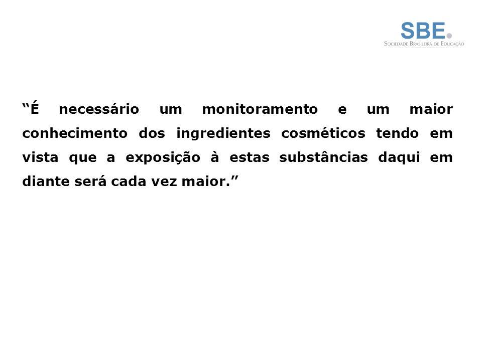 Absorção Sistêmica em Humanos Comment in: J Invest Dermatol.