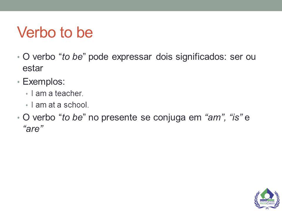Simple Present FORM [VERB] + s/es na terceira pessoa Examples: You speak English.