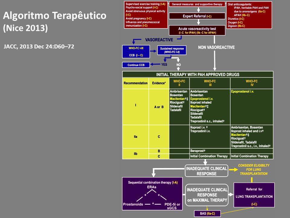 JACC, 2013 Dec 24:D60–72 Algoritmo Terapêutico (Nice 2013)