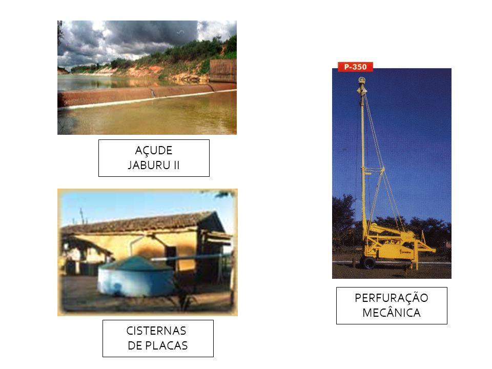 PERFURAÇÃO MECÂNICA CISTERNAS DE PLACAS AÇUDE JABURU II