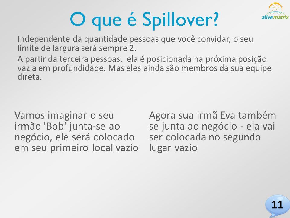 O que é Spillover.