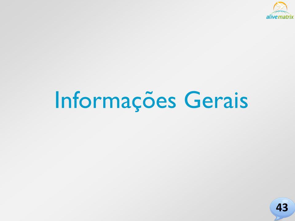 Informações Gerais 43