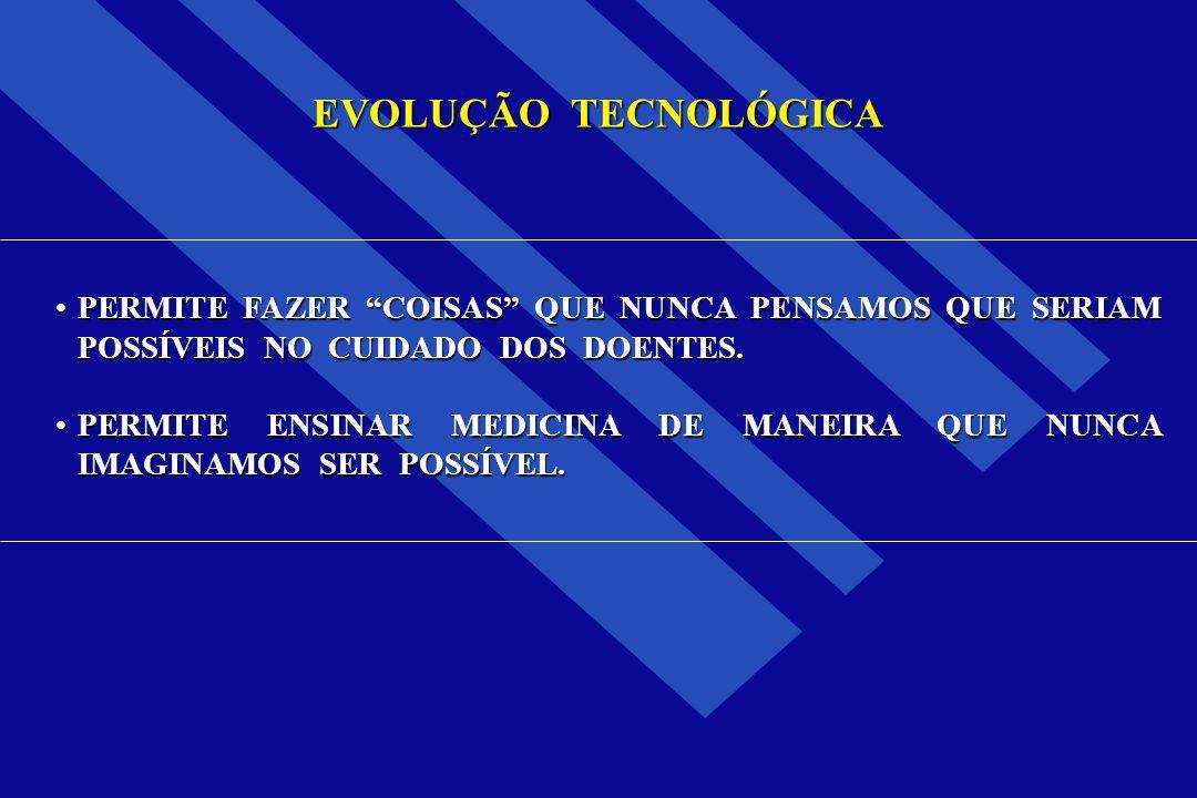TECNOLOGIA ASPECTOS NEGATIVOS USO INDISCRIMINADO USO INDISCRIMINADO MEDICINA DEFENSIVA MEDICINA DEFENSIVA MEDICINA MECANIZADA MEDICINA MECANIZADA AUMENTO DE CUSTOS AUMENTO DE CUSTOS DESLUMBRAMENTO TECNOLÓGICO