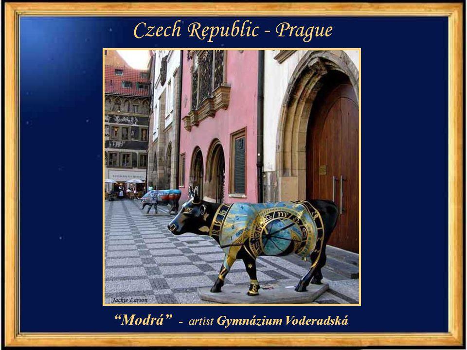 "Czech Republic - Prague ""Kudrnatá"" - artist Aleš Lamr"
