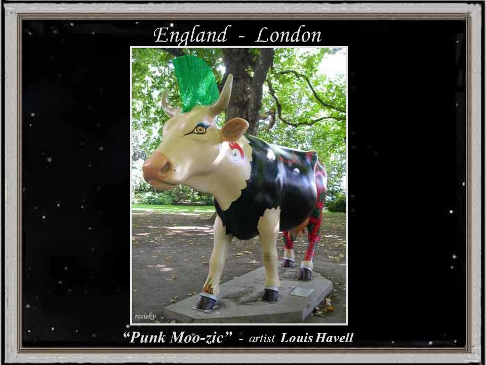 England - London Harry Potter Cow - Sponsor Warner Bros.