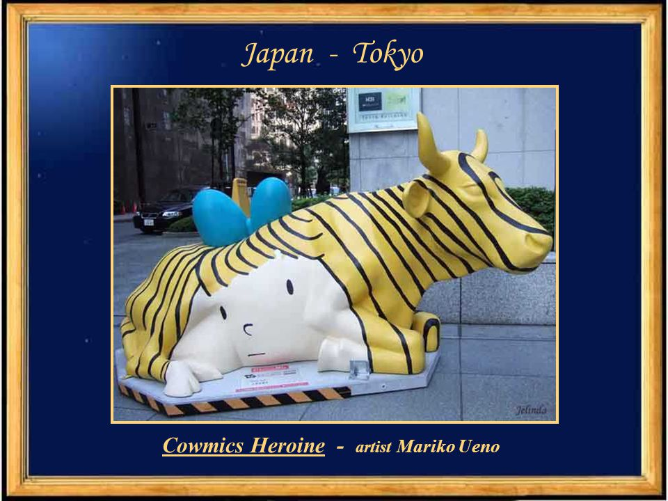 Japan -Tokyo Cyber cow – det ail - artist Team Macaron