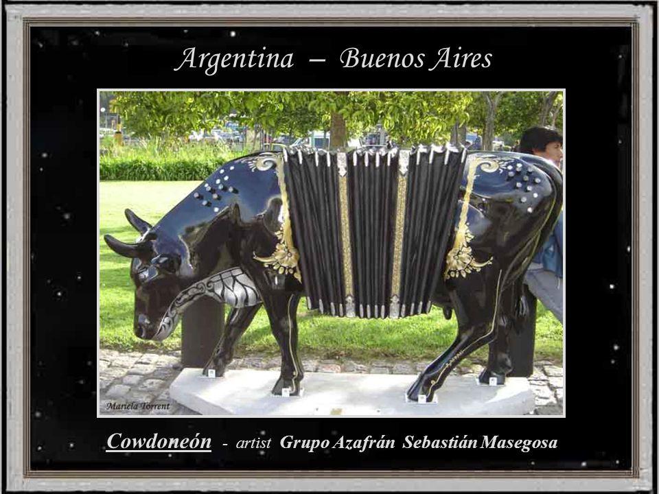Argentina – Buenos Aires Cowdoneón - artist Grupo Azafrán Sebastián Masegosa