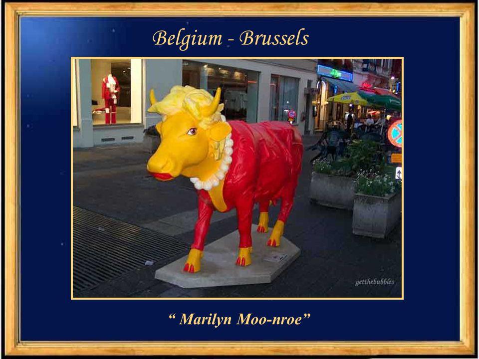 Belgium - Brussels Marilyn Moo-nroe
