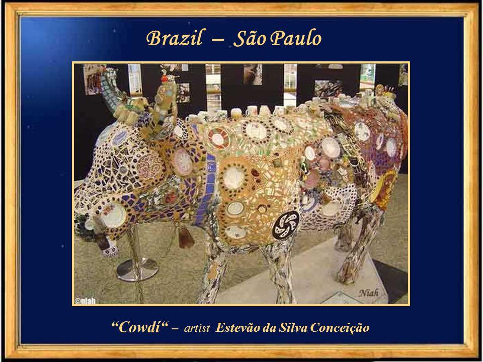 "Brazil – São Paulo ""Cow Pererê"" - artist Bruno Okada"