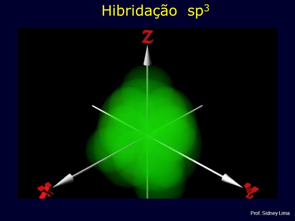 Hibridação sp 3 Prof. Sidney Lima